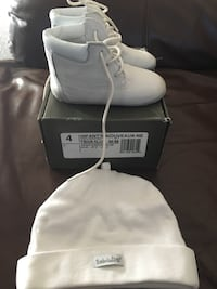 Baby Timberland Crib Shoe with matching Hat Toronto, M5A