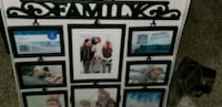 NEW family picture frame set never used  Fort Wayne, 46835