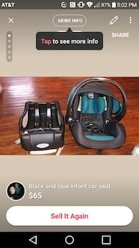 Carseat used a couple times