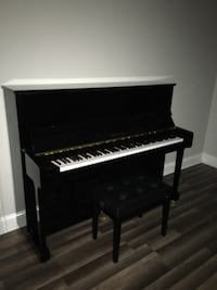 black and white upright piano Laurel, 20707