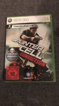 Splinter Cell Conviction Xbox 360 Spiel-Fall