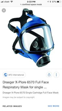 Confined space mask. The more u buy the lower the price can be.  I have a total of forty  Port Coquitlam, V3C 1R9