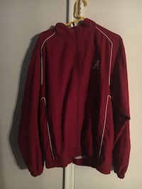 red and white Adidas zip-up jacket Fairhope, 36532
