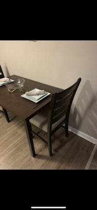 Dining Table and 2 Dining Chairs (Color: Espresso) Baltimore, 21236