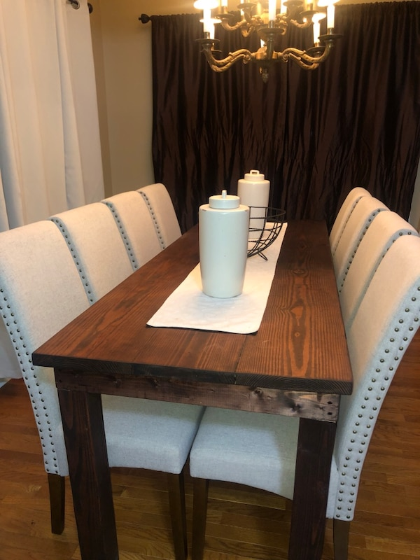 Used Heavy Duty Farm Table Handmade For Sale In Marietta