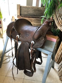 Leather saddle  Canby, 97013