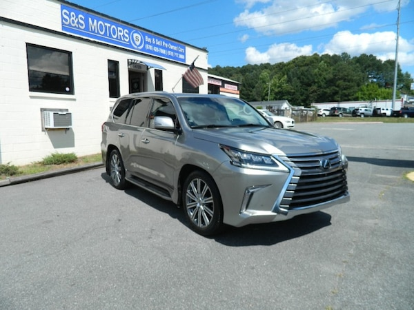 2016 Lexus LX 570 4WD Factory Warranty DVD luxurious package 1,Owner Low  Miles 21k