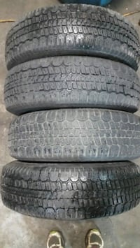 Used set of winter tires size 185-70-14