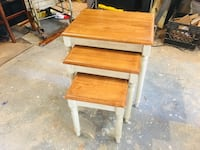 Solid Wood Nesting End Tables  Toms River, 08753