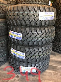 """15"""" Mud Terrain Tires For Sale 235/75R15 M/T Set of 4 Free Install San Jose, 95112"""