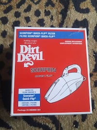 2 DIRT DEVIL FILTERS#3-DE0900-001 Gaithersburg, 20877