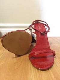 Brand NEW Red sandals - never worn