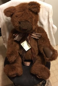 Gund Brown Plush Bear 421 mi