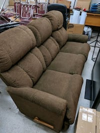 Reclining couch.  Los Angeles, 91307