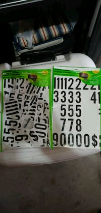Numbers and letters Riverton