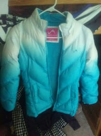 Great condition blue and white bubble jacket Uniontown, 44685