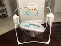 Baby swing, like new Brampton, L7A 3C5
