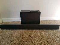 Vizio sound bar with wireless subwoofer and remote Kent, 98032