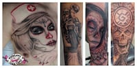 $700 FLAT DAY RATE. Vancouver TATTOO ARTIST  Burnaby