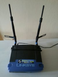 Router LINKSYS wireless  Stockholm, 128 36