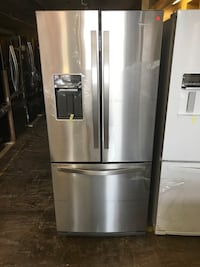"""NEW WHIRLPOOL 30"""" FRENCH DOOR REFRIGERATOR STAINLESS STEEL  Palisades Park, 07650"""
