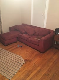 L shaped sectional and chair needs cleaned Turtle Creek, 15145
