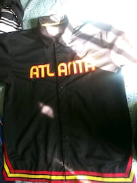black and red Chicago Bulls jacket Beverly Hills, 34465