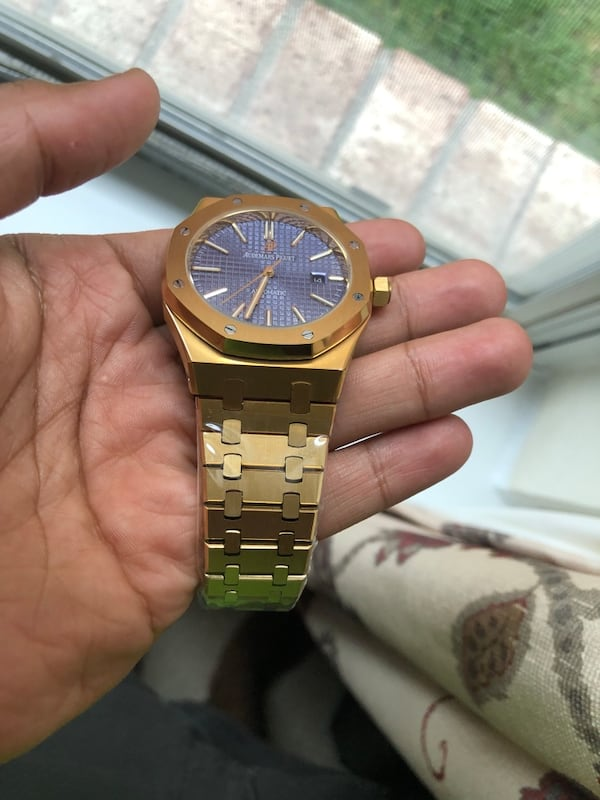 Audemars Piguet Royal Oak 18k Watch 3