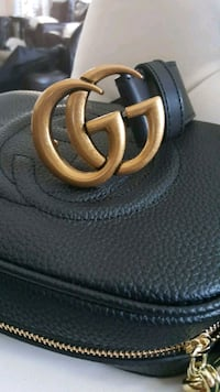 Gucci leather disco bag with belt Mississauga, L5T 2L8