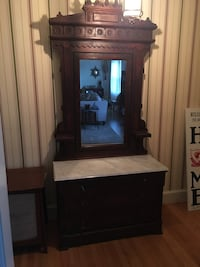 Antique entry table