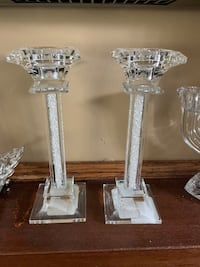 Crystal candle holders Ottawa, K2G 4A3