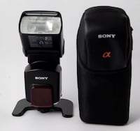 Sony HVL F58AM Shoe Mount Flash A mount in Excellent Condition 562 km