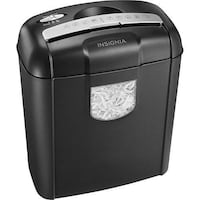 Insignia NS-PS06CC 6-Sheet Cross-Cut Shredder Mississauga