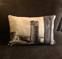 1963 Riley Towers Pillow Sham w/ Pillow Insert! Indianapolis, 46204