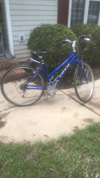 blue and black road bike Gibsonville, 27249