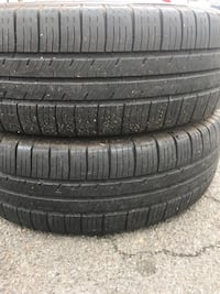 2 tires 205 /70r16 %75 $50 good year  Leesburg, 20176