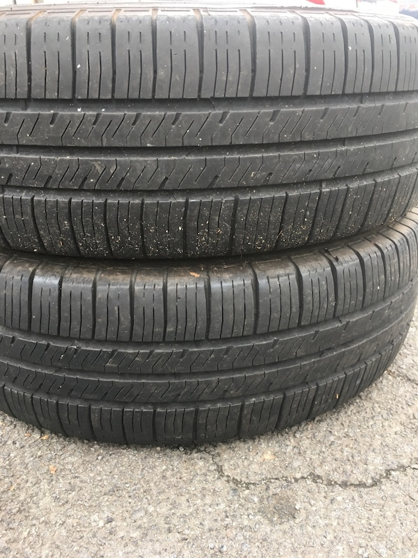 2 tires 205 /70r16 %75 $50 good year