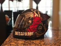 Coolest helmet in black and red with bluetooth Vienna, 22182