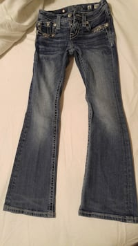 Girls Miss Me Jean's. Size 8 Childrens. West Point, 31833