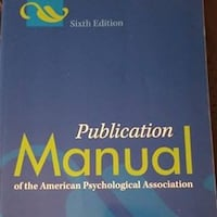 Publication Manual of the American Psychological Association Manassas