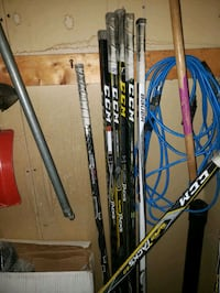 Hockey sticks CCM tacks Ultra skates FT1 as1 Sherwood Park, T8A 1H9