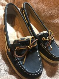 Awesome animal print on sperry top wider never used woman shoe size 9  Pembroke Pines, 33029