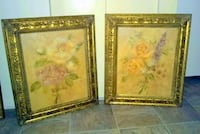 two brown wooden framed paintings Richmond, 23225