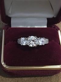 925 Silver Engagement Ring with box Hereford, 85615