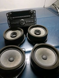 Radio and speakers