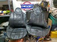 Seat covers for race seat good shape  147 mi