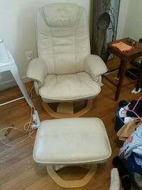 white and brown glider chair College Park, 20740
