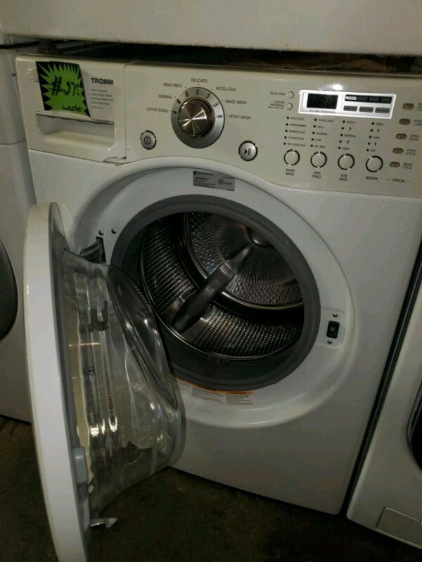 LG front load washer working perfectly