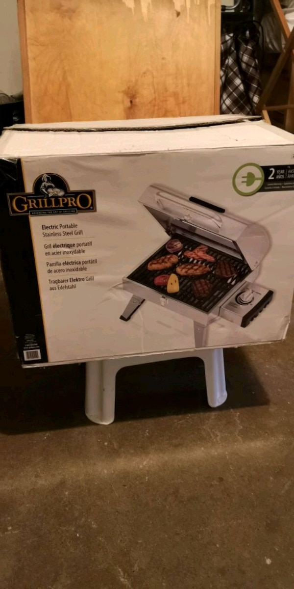 Electric Portable Grill by Grillpro 0