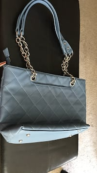 Blue quilted shoulder bag Charming Charlie's  Manchester, 03104